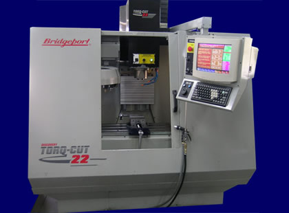 Bridgeport Torq-Cut 22 Vertical CNC Mill